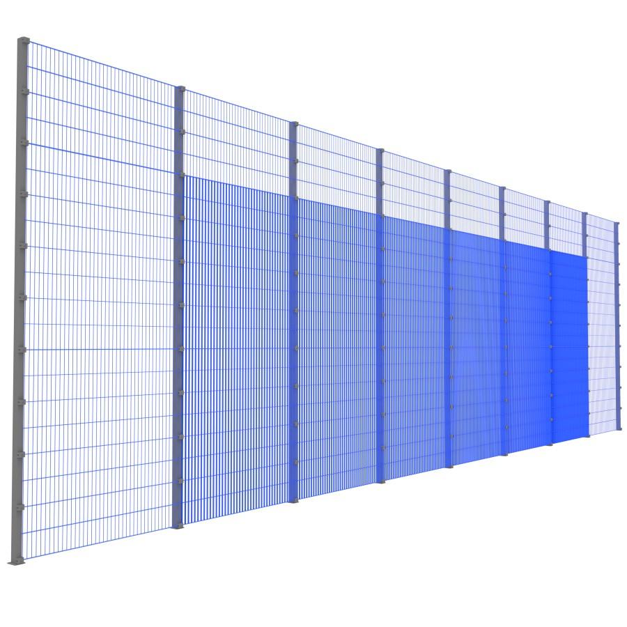 Модуль Спортивного Огородження ТРЄША™ (16х5) ударостійкий, антивандальний