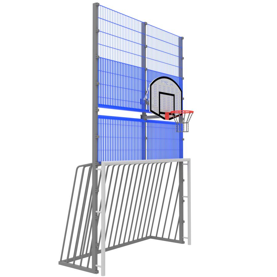 Модуль Спортивного Огородження ТРЄША™ мульти ігровий ударостійкий (3х5)