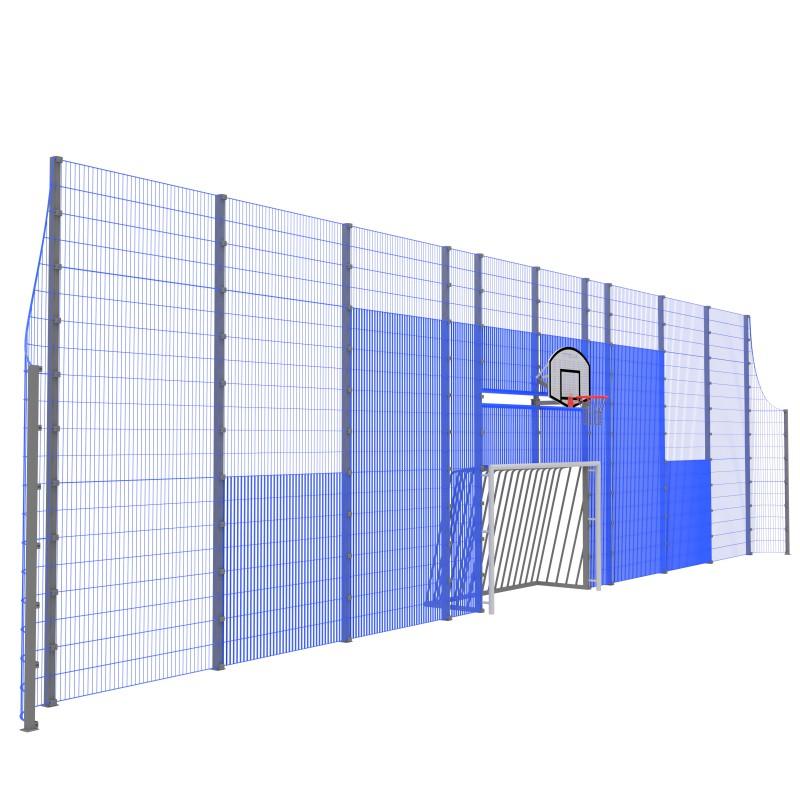 Модуль Спортивного Огородження ТРЄША™ мульти ігровий ударостійкий MP.0118 (L18.H3)