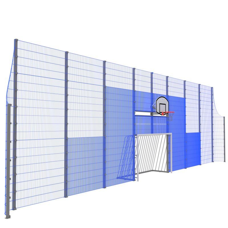 Модуль Спортивного Огородження ТРЄША™ мульти ігровий ударостійкий MP.0116  (L16х5H-3)