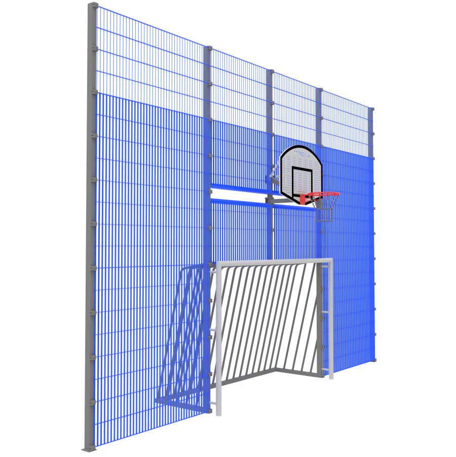Модуль Спортивного Огородження ТРЄША™ мульти ігровий ударостійкий (7х5)