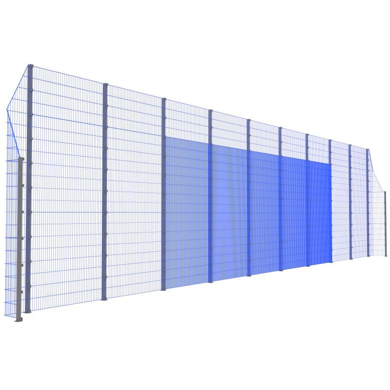Модуль Спортивного Огородження ТРЄША™ з кутами 90° (20х5-3)