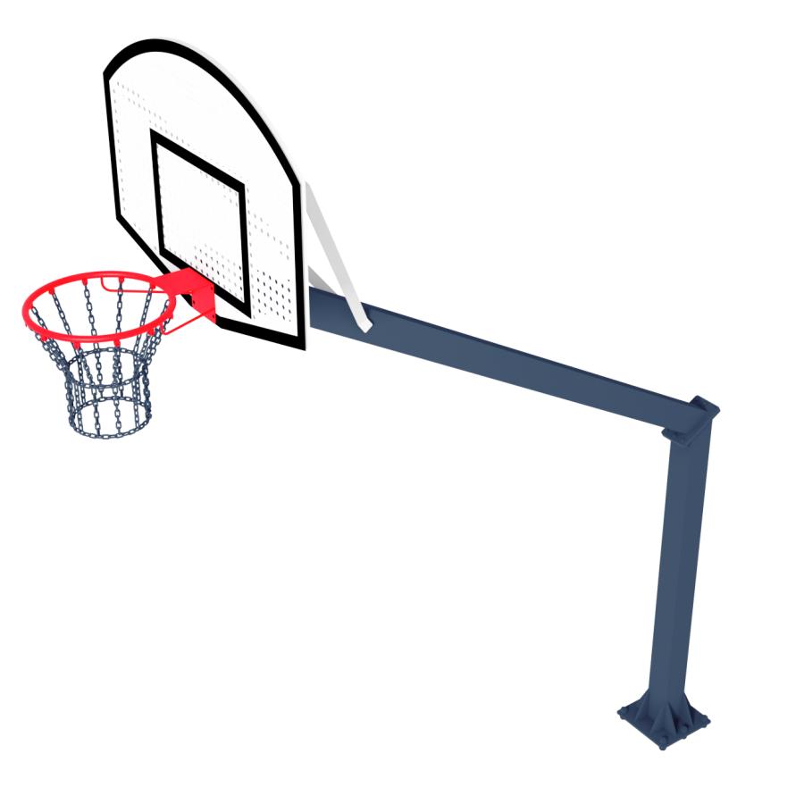 Стійка Баскетбольна ТРЕША™ 1200х900 мм. (Виліт 2,25 м)