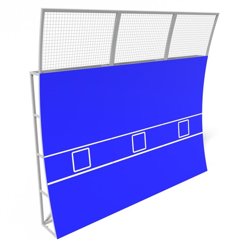 Тенісна Стінка Тренувальна 4.5 м. TSM.0001.3 (Модульна)