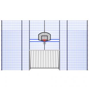 Модуль Спортивного Огородження ТРЄША™ мульти ігровий ударостійкий (9х5)