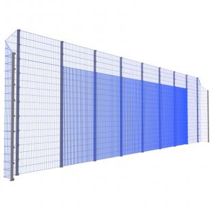 Модуль Спортивного Огородження ТРЄША™ з кутами 90° (L18хH5-4)