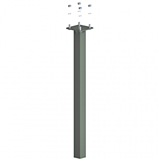 Заставна для стовпа ТРЕША™ 60х80 мм. Н-1000 мм