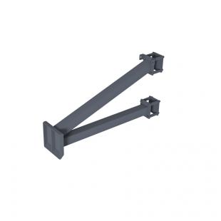 Щит для Стрітбола ТРЕША™ 1200х900 мм. до стовпа (виліт 0,8 м)