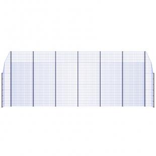 Модуль Спортивного Огородження ТРЄША™ з кутами 90° (L13хH5-3)