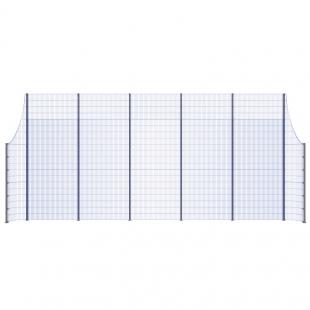 Модуль Спортивного Огородження ТРЄША™ з радіусними кутами (11х5-3)