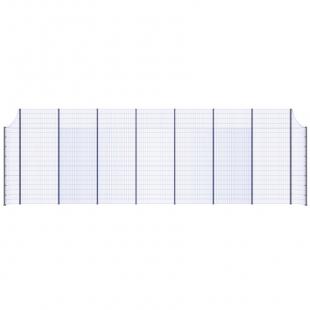 Модуль Спортивного Огородження ТРЄША™ з радіусними кутами (L16х5H-4)