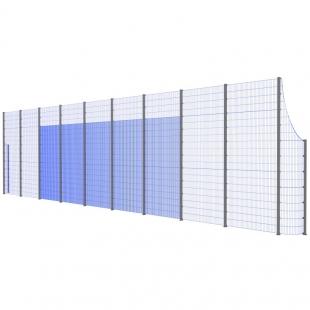 Модуль Спортивного Огородження ТРЄША™ з радіусними кутами (20х5-3)