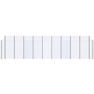 Модуль Спортивного Огородження ТРЄША™ з радіусними кутами (20х5-4)