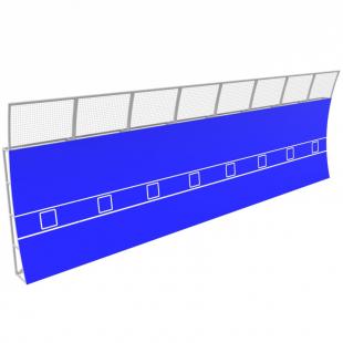 Тенісна Стінка Тренувальна 12.0 м. TSM.0001.8 (Модульна)