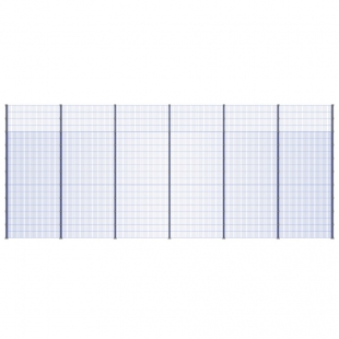 Модуль Спортивного Огородження ТРЄША™ (12х5) ударостійкий, антивандальний