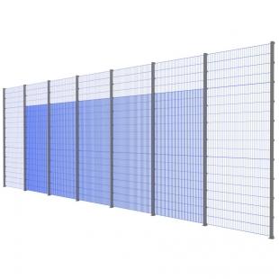 Модуль Спортивного Огородження ТРЄША™ (14х5) ударостійкий, антивандальний