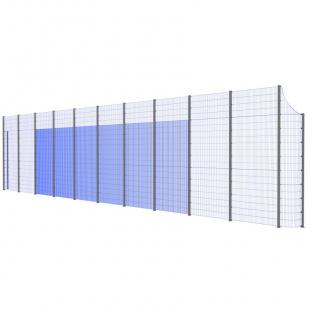 Модуль Спортивного Огородження ТРЄША™ з радіусними кутами (22х5-4)
