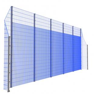 Модуль Спортивного Огородження ТРЄША™ з кутами 90° (11х5-3)