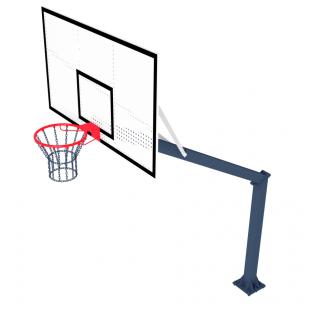 Стойка Баскетбольная ТРЕША™ 1800х1050 мм. Fiba (вылет 2,25 м)