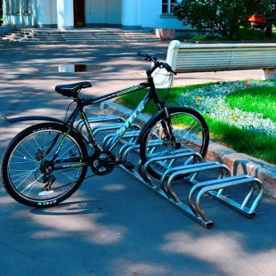 Вело-парковка ТРЕША™ на 7 місць