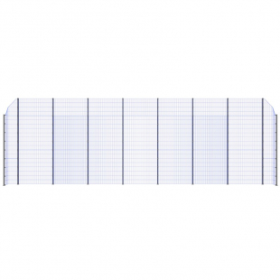 Модуль Спортивного Огородження ТРЄША™ з кутами 90° (L16H-4)