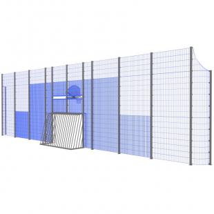 Модуль Спортивного Огородження ТРЄША™ мульти ігровий ударостійкий MP.0119 (L18хH5-4)