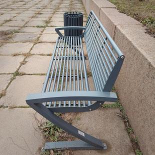Скамейка со спинкой ЗОРРО