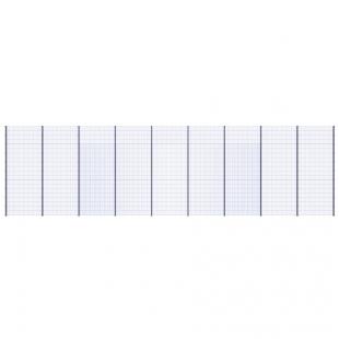 Модуль Спортивного Огородження ТРЄША™ (18х5) ударостійкий, антивандальний