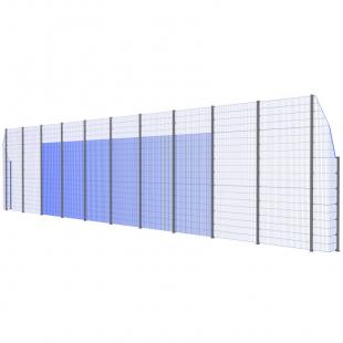Модуль Спортивного Огородження ТРЄША™ з кутами 90° (22х5-3)