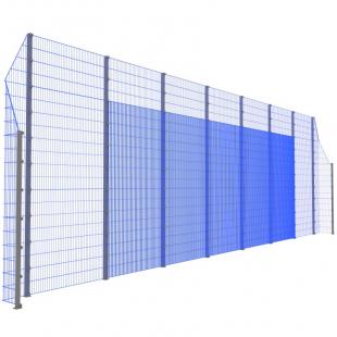 Модуль Спортивного Огородження ТРЄША™ з кутами 90° (L16H-3)