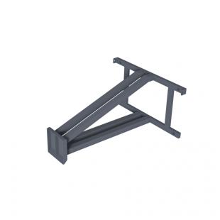 Щит для Стрітбола ТРЕША™ 1200х900 мм. до стіни (виліт 0,8 м)