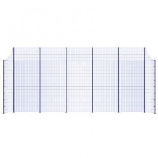 Модуль Спортивного Огородження ТРЄША™ з радіусними кутами (11х5-4)