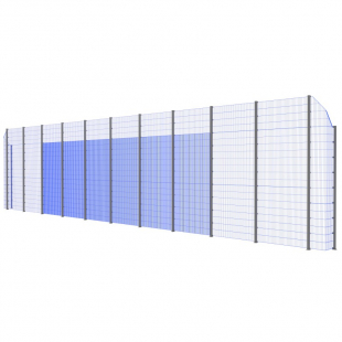 Модуль Спортивного Огородження ТРЄША™ з кутами 90° (22х5-4)