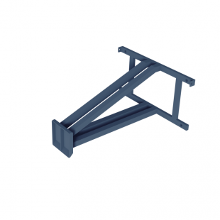 Щит для Стритбола ТРЕША™ 1800х1050 мм. к стене (вылет 0,8 м)