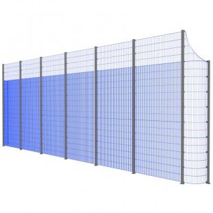 Модуль Спортивного Огородження ТРЄША™ з радіусними кутами (L13хH5-4)