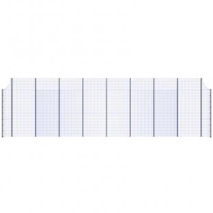 Модуль Спортивного Огородження ТРЄША™ з радіусними кутами (L18хH5-4)
