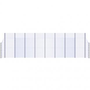 Модуль Спортивного Огородження ТРЄША™з радіусними кутами (L18хH5-3)