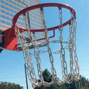 Сітка з ланцюга  баскетбольна ТРЕША™