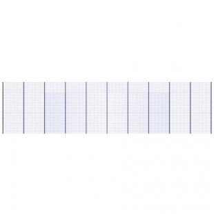 Модуль Спортивного Огородження ТРЄША™ (20х5) ударостійкий, антивандальний