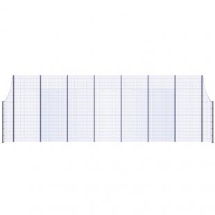 Модуль Спортивного Огородження ТРЄША™ з радіусними кутами (L16х5H-3)