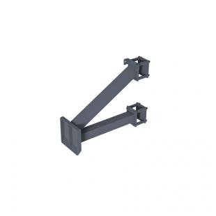 Щит для Стрітбола ТРЕША™ 1200х900 мм. до стовпа (виліт 0,5 м)