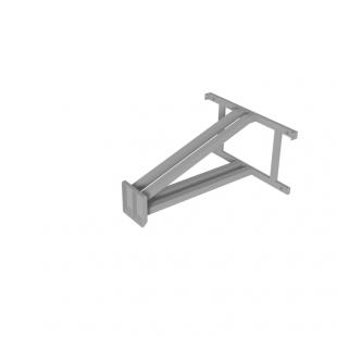Щит для Стритбола ТРЕША™ 1200х900 мм. на стену (вылет 0,8 м)