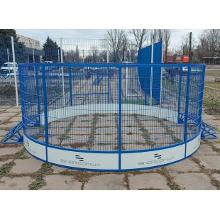 Модульний Спортмайданчик Арена ТРЄША™ Ф-8 м для панна футбола та юки