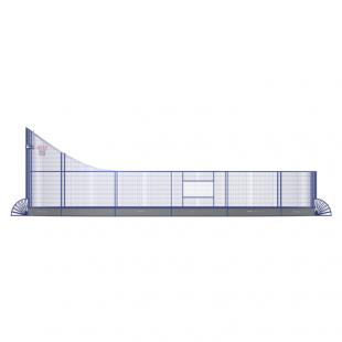 Модульний Спортмайданчик ТРЄША™ 8х13м (Компакт)