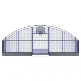Модульний Спортмайданчик ТРЄША™ 10х16м (Компакт2)