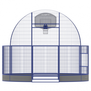 Модульний Спортмайданчик Арена ТРЄША™ Ф-6 м для панна футбола, юки та стрітболу