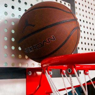Стійка Баскетбольна ТРЕША™ 1800х1050 мм Fiba. (Виліт 2,25 м)